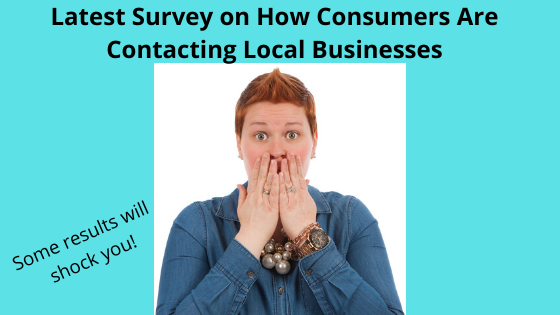 Latest Survey on How Consumers Are Contacting Local Businesses